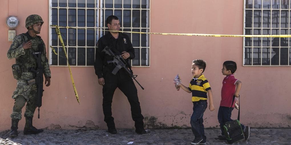 NIÑOS VIOLENCIA