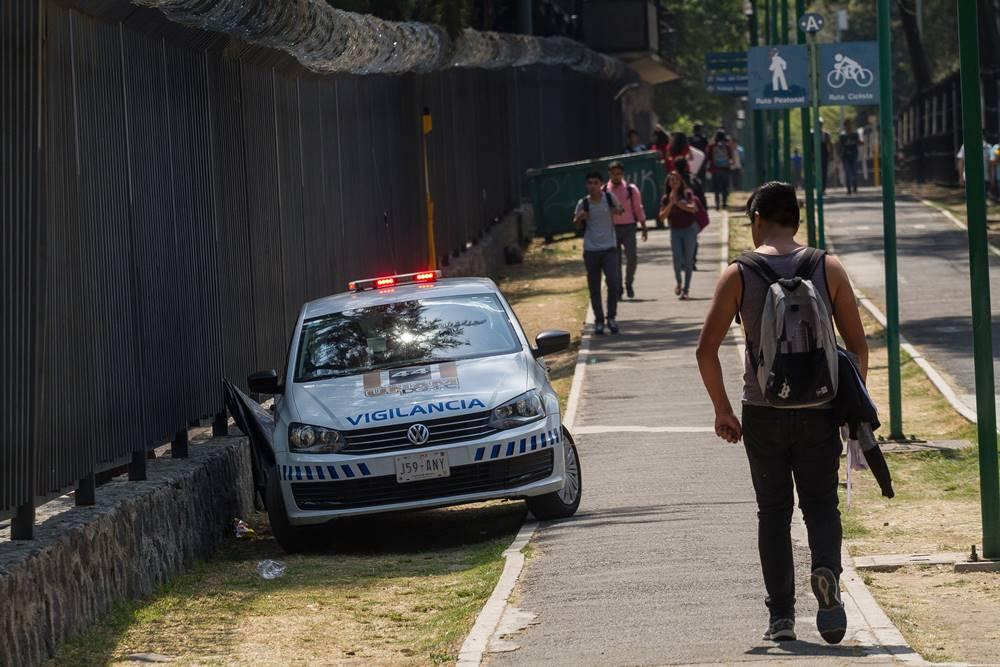 ¿En qué gasta la UNAM el presupuesto en seguridad?