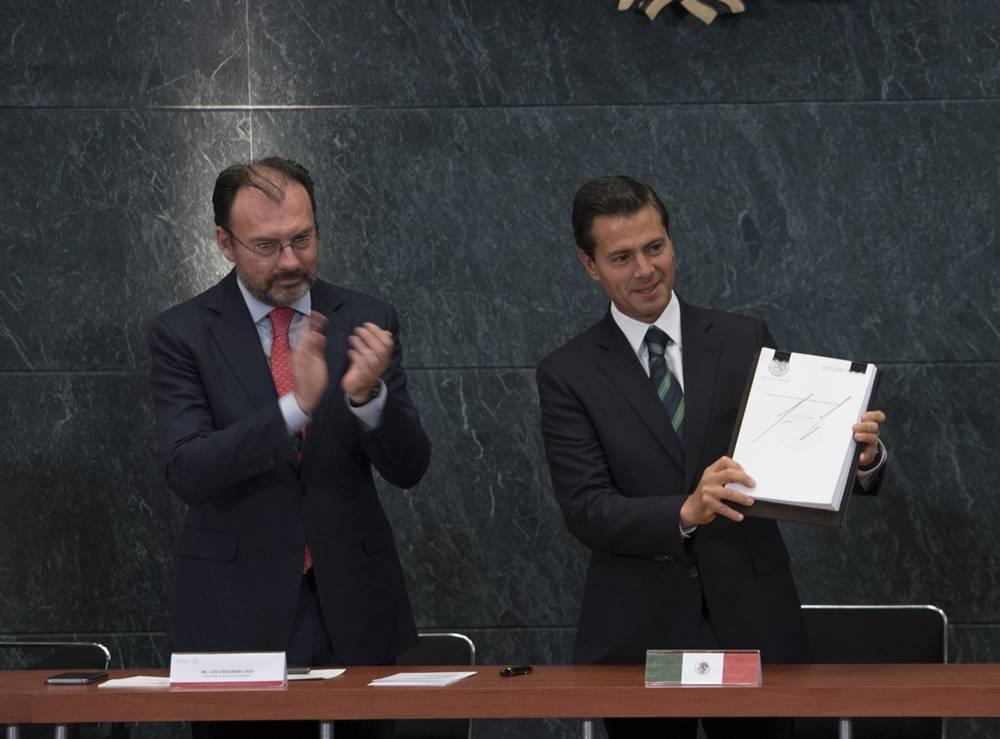 Videgaray y Peña Nieto